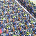 608-batman-stickers-disney-tejidos-algodón-estampado-percal,telas frikis,estampados frikis,Tejido Estampado Batman Stikers