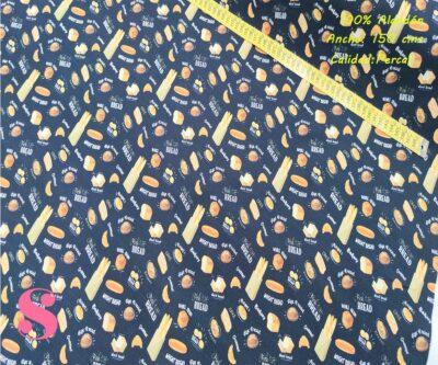 615-panaderia-bolleria-tejidos-algodón-estampado-percal,telas para delantales,Tejido Estampado Panadería & Bollería