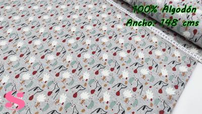 616-Tejido-Punto-Sudadera-Estampado-Flores, telas estampadas,telas de invierno,tejidos calentitos de invierno