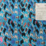 H18-mandos-consolas-acabado-sanitario-hidrofugado-tejidos-algodón-estampado-percal,telas con acabado sanitario,tejidos con certificado aitex,Estampado Hidrófugo Antibacteriano Mandos Consolas