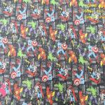 604-marvel-grupo-comic-tejidos-algodón-estampado-percal,telas frikis,estampados frikis,Tejido Estampado Marvel Grupo Comics