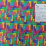 H16-tetris-acabado-sanitario-hidrofugado-tejidos-algodón-estampado-percal,tejido con acabado sanitario,telas con certificado aitex,Estampado Hidrófugo Antibacteriano Tetris