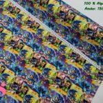 tejidos-estampados-de-algodón,-telas-frikis,telas-estampadas-de-moda,Tejido Estampado Lilo & Stitch