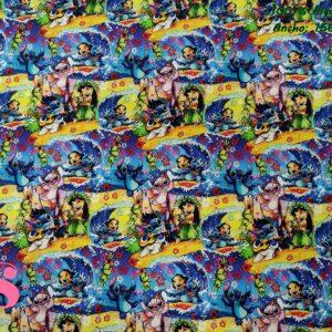 658 Tejido Estampado Lilo & Stitch