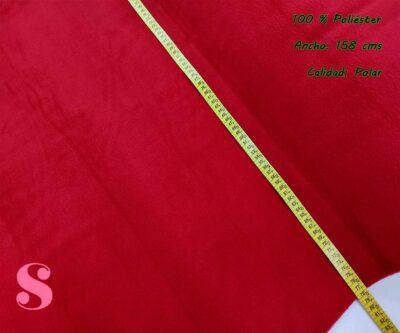 4-tela-polar-por-metros,tejido-polar-por-metros,telas-calentitas-de-invierno,Polar Rojo