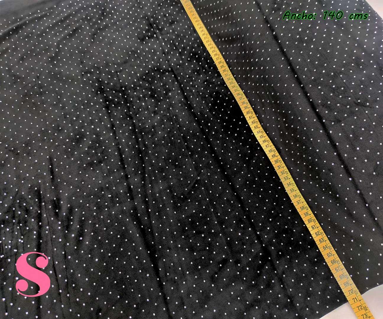 8-terciopelo-elástico,telas-para-vestidos-de-fiesta,telas-para-vestidos-de-noche-vieja,tejidos-elegantes,Terciopelo con Brillantes Negro