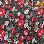 632-calaveras-garabatos-graffiti-tejidos-algodón-estampado-percal,Tejido Estampado Calaveras Skull Tumble,catrinas de moda