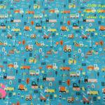 633-maquinas-construccion-obrasi-tejidos-algodón-estampado-percal,Tejido Estampado Máquinas de Construcción