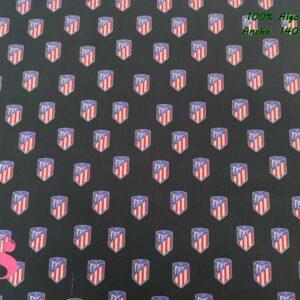 678 Tejido Estampado Atlético de Madrid