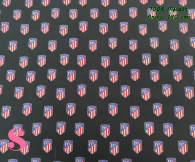 10-telas-frikis,tejidos-estampados-deporte,estampados-frikis,telas-originales,camelot-fabrics,Tejido Estampado Atlético de Madrid