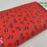 12-telas-marvel-originales,telas-frikis,estampados-frikis,estampados-marvel-originales,Tejido Estampado Patch Americano Mini Spiderman