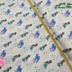 14-telas-frikis,tejidos-estampados-disney,estampados-princesas,telas-originales,camelot-fabrics,Tejido Estampado Patch Americano Jasmín & Genio