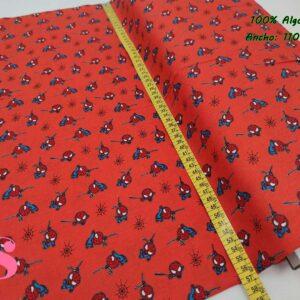 687 Tejido Estampado Patch Americano Mini Spiderman