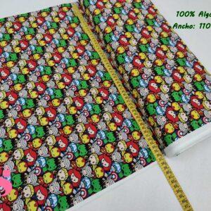 689 Tejido Estampado Patch Americano Mini Vengadores