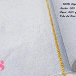 tela-rizo-azul-algodón-confencción-toallas-albornoces-playa-ribete,Felpa de Rizo Americano Celeste