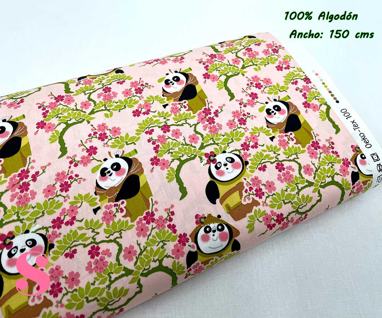 36-tela-estampada-kung-fu-panda,telas-dibujos-animados-frikis,telas-infantiles,tejidos-infantiles,Tejido Estampado Kung Fu Panda Sakura