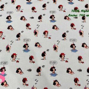 726 Tejido Estampado Mafalda Playa