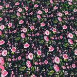 63-tela-estampada-flores,telas-dibujos-primaverales,telas-infantiles,tejidos-infantiles,62-tela-estampada-flores,telas-dibujos-primaverales,telas-infantiles,tejidos-infantiles,Tejido Estampado Rose Flower fondo Negro
