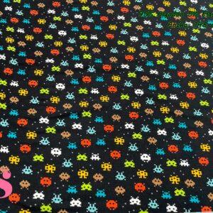 781 Punto Camiseta Jersey Estampado Marcianitos Galaxian