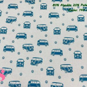 758 Half Panamá Furgoneta Wolkswagen Azul