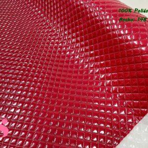 Acolchado Plastificado Rojo
