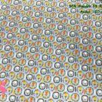 23-telas-de-primavera-infantiles,-estampados-infantiles-primaverales,-tela-arcoiris-de-algodón,tela-doble-gasa,Punto Camiseta Estampado Lions