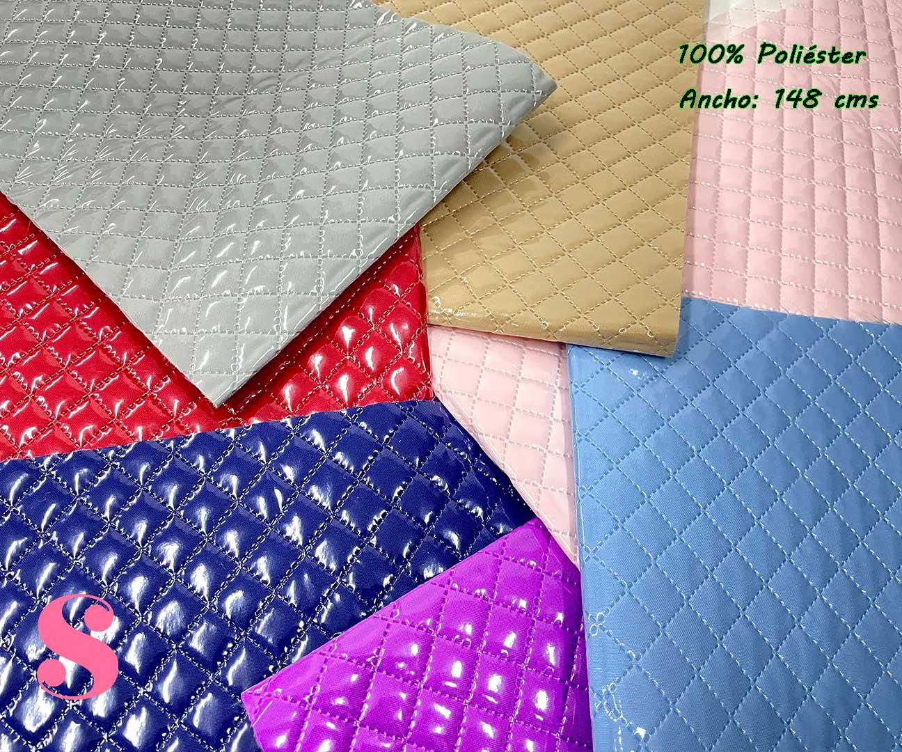 1-telas-plastificadas,tejidos-plastificados,tejidos-impermeables,telas-para-neceseres,telas-para-bolsos,Acolchado Plastificado Azul,Acolchado Plastificado Rojo,Acolchado Plastificado Morado