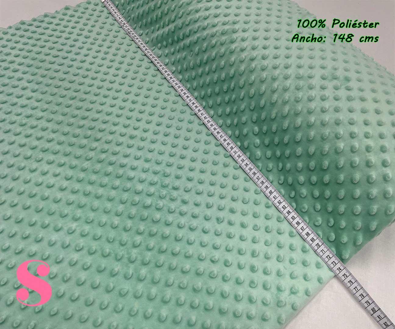 12-telas-infantiles,-telas-de-bebe,-tejidos-suaves,tejidos-infantiles,tejidos-bebé,Minky Verde Agua Marina