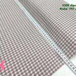17-telas-de-algodón-100%,telas-infantiles,estampados-infantiles,telas-para-bebes,Vicky Algodón Cuadros Nude 5 Milímetros