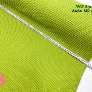 Wafel Cuadrados Verde