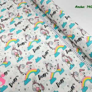 M22 Mantel Unicornio Dream Resinado Antimanchas