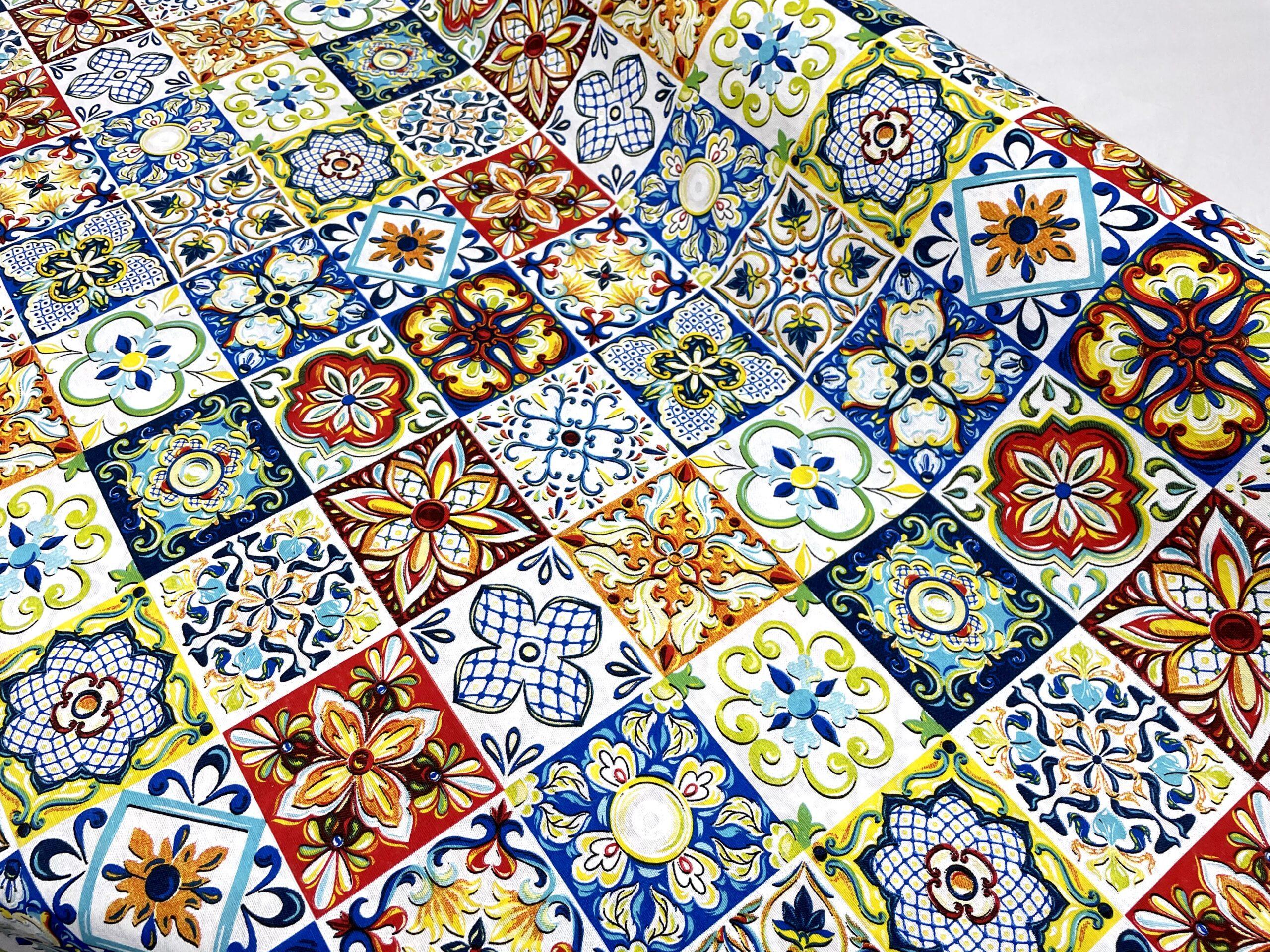 lonetas estampado azulejos