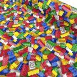 Loneta estampada cubos lego