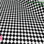 loneta tablero de ajedrez telas y manteles