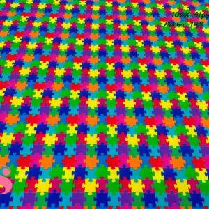 928 Tejido Estampado Puzzle