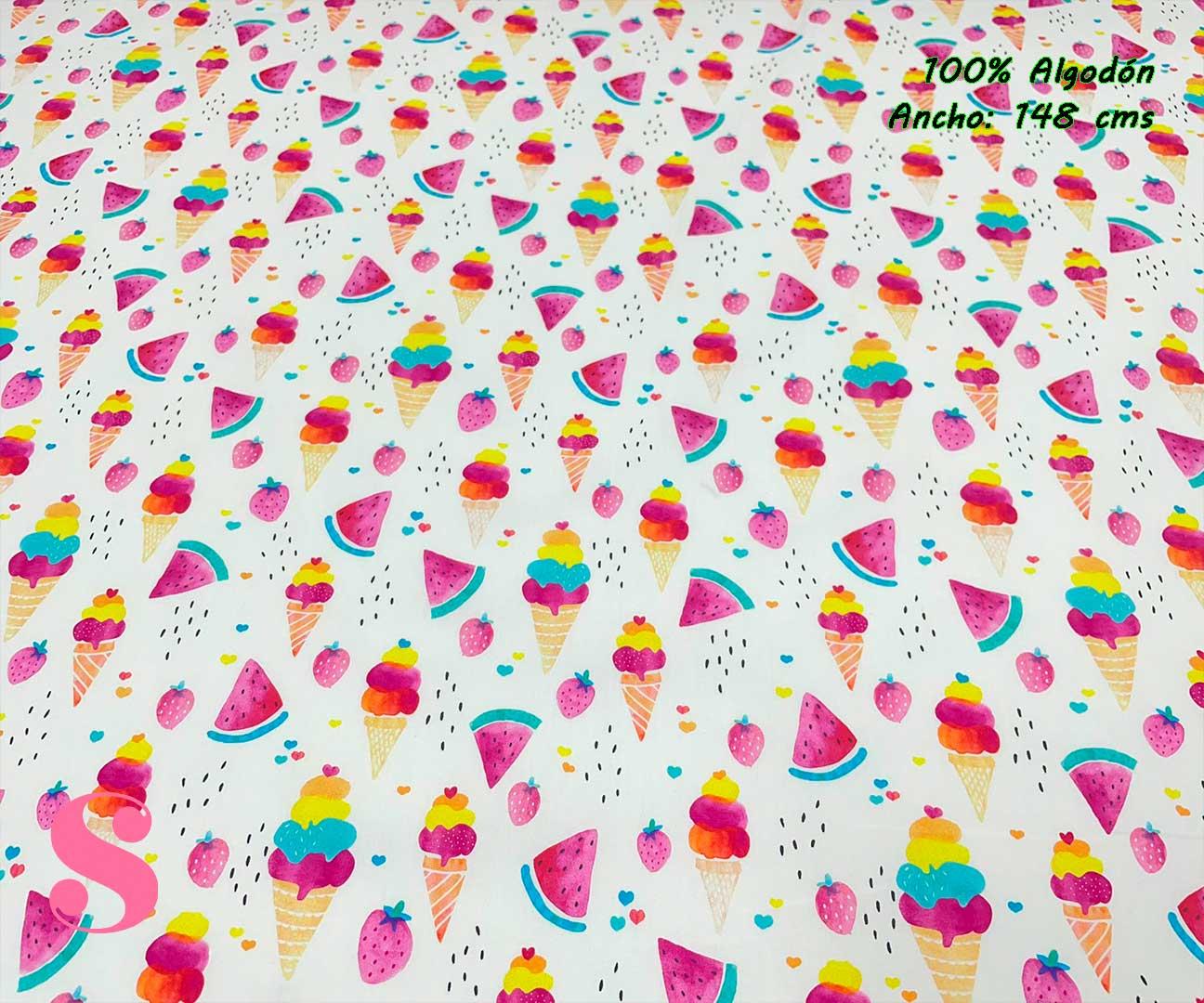 61-telas-estampadas-de-algodón,-telas-floreadas,estampados-floreados-de-algodón,estampados-origonales-de-algodón,Tejido Estampado Summer