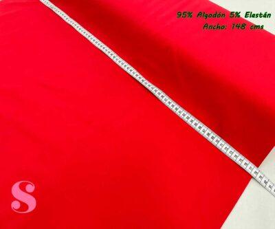10-telas-de-punto,telas-para-confeccionar-ropa-de-niño,telas-que-no-se-arrugan,tela-sin-plancha,Punto Camiseta Jersey Rojo
