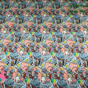 963 Tejido Estampado Dumbo