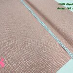 13-telas-de-algodón,telas-para-confeccionar-ropa-de-niño,telas-de-bebe,telas-infantiles,Tejido Estampado Orejitas Mouse Salmón
