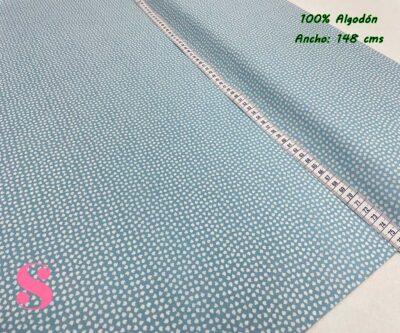 14-telas-de-algodón,telas-para-confeccionar-ropa-de-niño,telas-de-bebe,telas-infantiles,Tejido Estampado Orejitas Mouse Azul