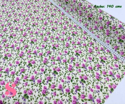 18-tela-de-hule,mantel-impermeable,mantel-para-exterior,telas-impermeables,Mantel Rosas Malva Resinado Antimanchas