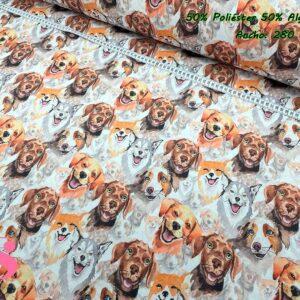 952 Loneta Estampada Perros