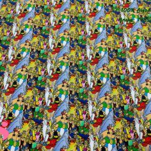 967 Tejido Estampado Asterix y Obelix