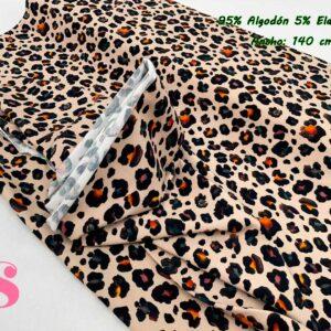 996 Punto Camiseta Jersey Estampado Animal Print