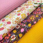 11-popelin-estampado-flores,telas-flores,telas-de-algodón-estampadas,telas-infantiles,Popelín Estampado Fall Flowers fondo Blanco