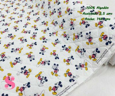 17-telas-acolchadas,estampados-acolchados-infantiles,acolchados-para-fundas,-telas-para-fundas-de-carrito-de-bebes,Acolchado Mickey Mouse