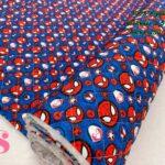 19-telas-acolchadas,estampados-acolchados-infantiles,acolchados-para-fundas,-telas-para-fundas-de-carrito-de-bebes,Acolchado Spider-Man Stikers