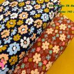 3-telas-de-punto,telas-estampadas-infantiles,tejidos-estampados-para-sudaderas,telas-para-confeccionar-ropa-infantil,Punto Camiseta Jersey Estampado Margaritas Fondo Marino,Punto Camiseta Jersey Estampado Margaritas Fondo Teja