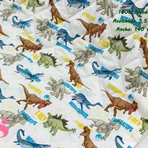 983 Acolchado Jurassic World Especies