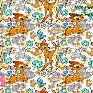 0005 Tejido Estampado Bambi
